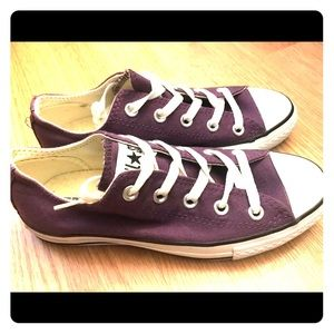 Converse All Star Low Top - Purple